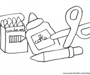 Coloriage dessin  Ecole Maternelle 36