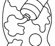 Coloriage et dessins gratuit La Gouache pour enfant à imprimer