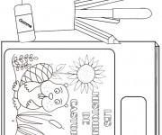 Coloriage et dessins gratuit Materiel Scolaire 13 à imprimer
