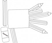 Coloriage et dessins gratuit Materiel Scolaire 18 à imprimer