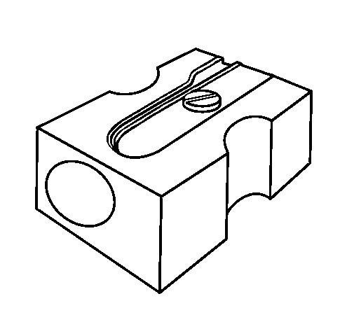 Coloriage et dessins gratuits Taille Crayon facile à imprimer