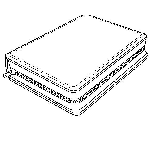 Coloriage et dessins gratuits Trousse de Crayon à imprimer