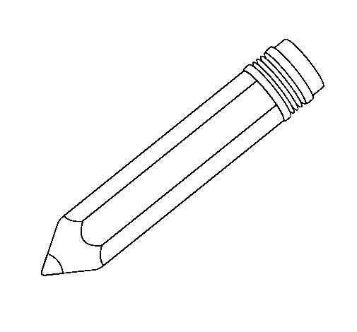 Coloriage et dessins gratuits Un Crayon pour écrire à imprimer