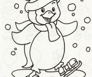 Coloriage Hiver Maternelle