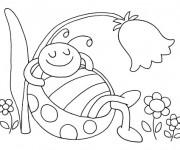 Coloriage et dessins gratuit Maternelle Ete 10 à imprimer