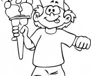 Coloriage et dessins gratuit Maternelle Ete 9 à imprimer