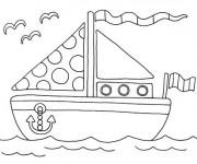 Coloriage et dessins gratuit Maternelle Été en ligne à imprimer