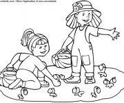 Coloriage et dessins gratuit Maternelle Été et L'amusement à imprimer
