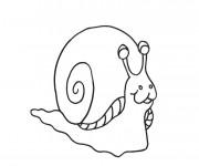 Coloriage et dessins gratuit Escargot Maternelle à imprimer