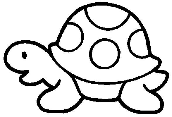 Coloriage tortue maternelle vectoriel dessin gratuit imprimer - Coloriage fleur 3 ans ...