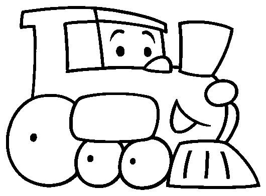 Coloriage et dessins gratuits Un Train Maternelle à imprimer
