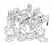 Coloriage et dessins gratuit Disney Noel en couleur à imprimer