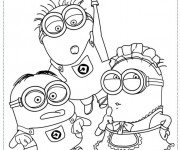 Coloriage dessin  Film Les Minions 39