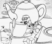 Coloriage dessin  Minion Rush 12