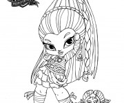 Coloriage dessin  Monster High Baby 12