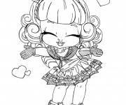 Coloriage dessin  Monster High Baby 4