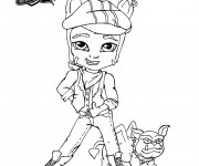Coloriage dessin  Monster High Baby 5