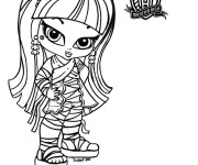 Coloriage dessin  Monster High Baby 9