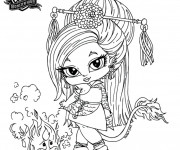 Coloriage Monster High Baby dessin animé