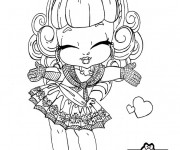 Coloriage Monster High bébé mignonne