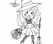 Coloriage Monstres Halloween