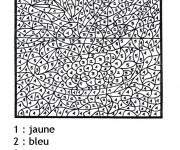 Coloriage Magique Difficile