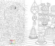 Coloriage dessin  Mystere 12