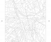 Coloriage dessin  Mystere 15