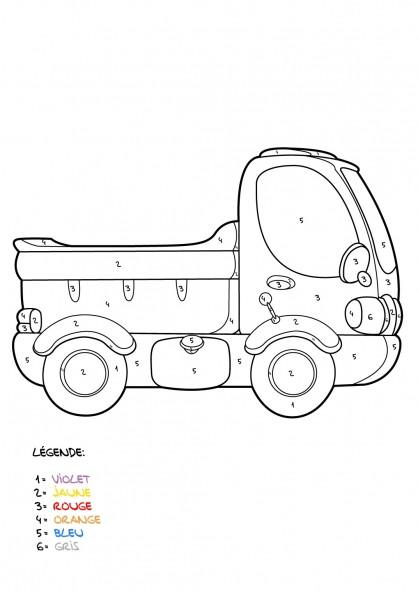 Coloriage et dessins gratuits Mystère Camionnette à imprimer