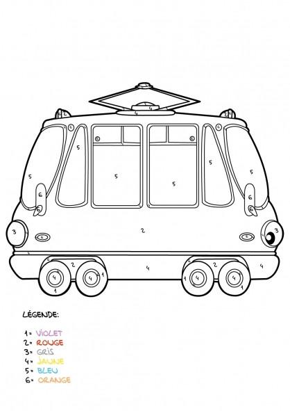 Coloriage et dessins gratuits Mystère Tramway Classique à imprimer