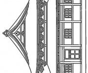 Coloriage dessin  Palais 16
