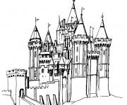Coloriage dessin  Palais 20