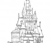Coloriage et dessins gratuit Palais britannique à colorier à imprimer