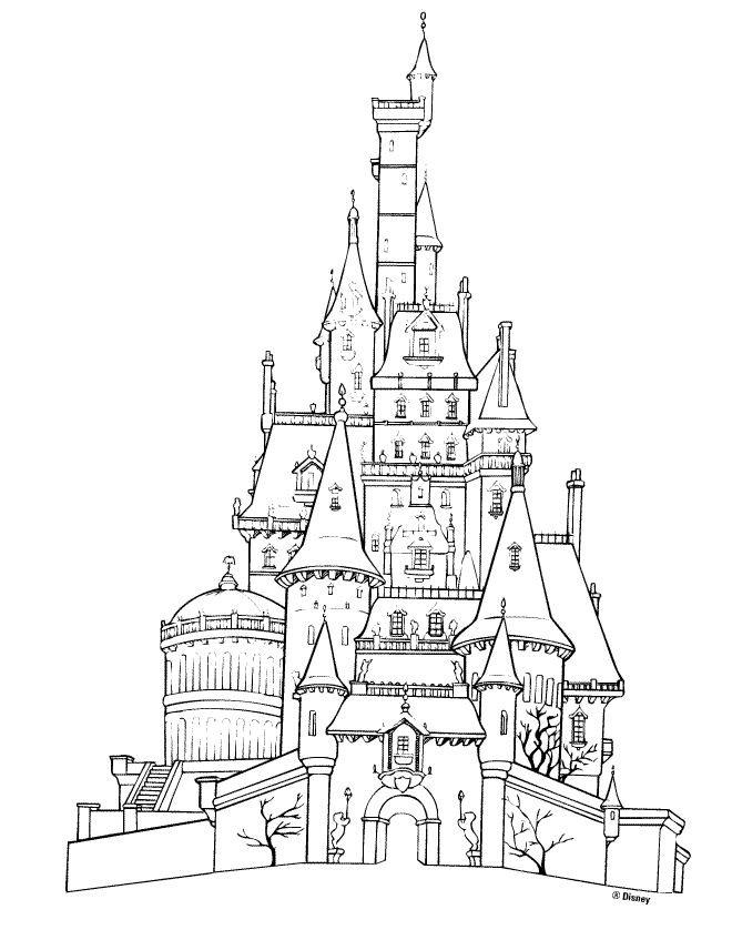 Coloriage et dessins gratuits Palais britannique à colorier à imprimer