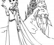Coloriage et dessins gratuit Palais de princesse à imprimer