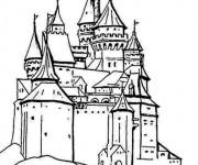 Coloriage et dessins gratuit Palais européen à imprimer