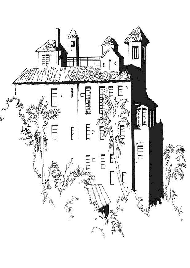 Coloriage et dessins gratuits Palais vectoriel à imprimer
