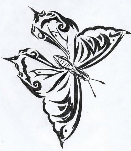 coloriage papillon artistique difficile dessin gratuit imprimer. Black Bedroom Furniture Sets. Home Design Ideas