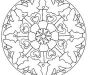 Coloriage dessin  Papillon Difficile 11
