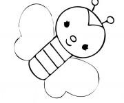 Coloriage et dessins gratuit Papillon Maternelle pour enfant à imprimer