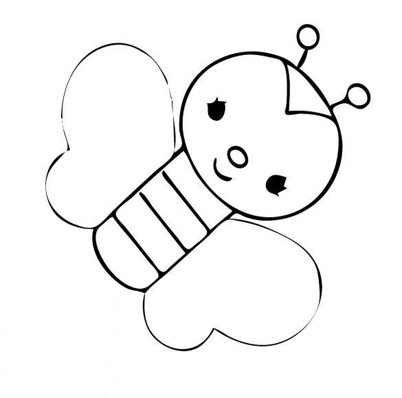 Coloriage papillon maternelle pour enfant dessin gratuit - Papillon maternelle ...