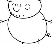 Coloriage dessin  Peppa Pig 31