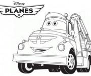Coloriage Dottie dessin animé