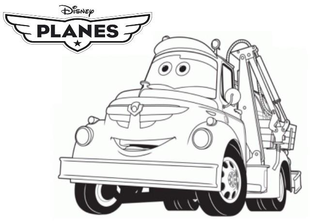 Coloriage dottie dessin anim dessin gratuit imprimer - Plane coloriage ...