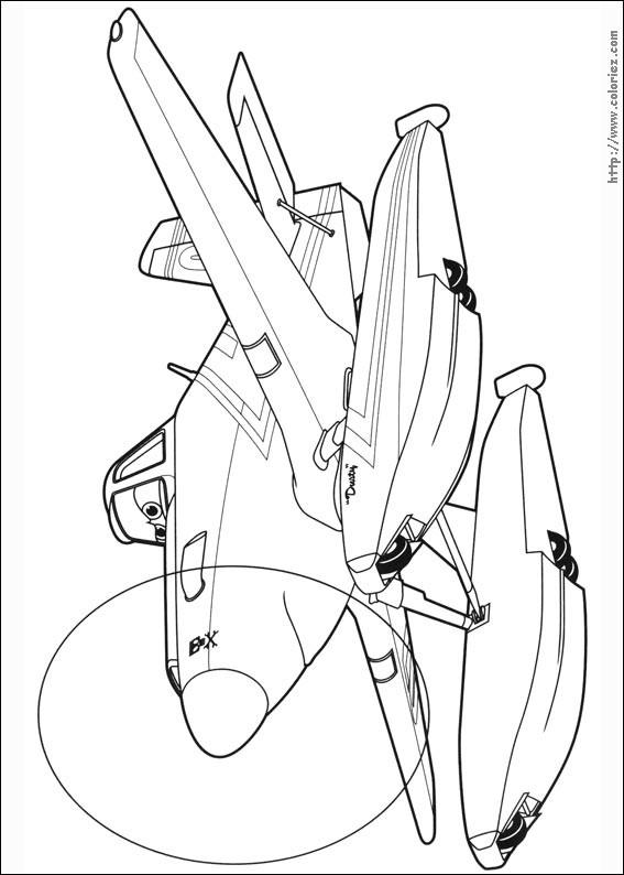 Coloriage et dessins gratuits Planes Cabbie à imprimer