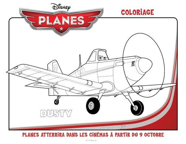 Coloriage et dessins gratuits Planes Disney à imprimer