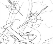 Coloriage dessin  Planes Dusty 16