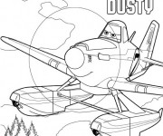 Coloriage dessin  Planes Dusty 2