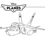 Coloriage Planes  Bravo Pixar