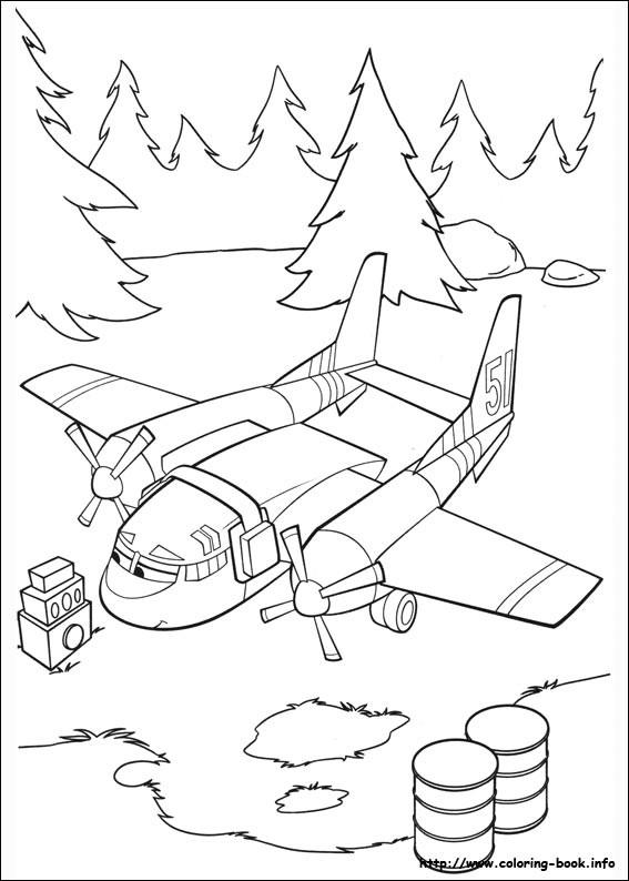 Coloriage et dessins gratuits Planes  Cobbie à colorier à imprimer